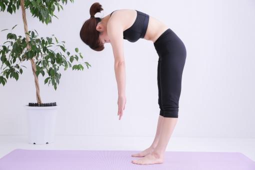 立位前屈に関する写真写真素材なら写真ac無料フリー
