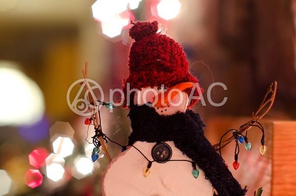 雪だるまのマスコット2の写真
