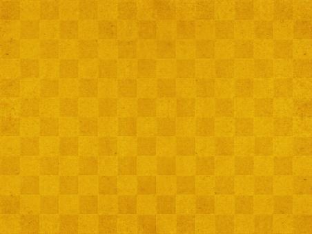 市松模様のゴールドテクスチャー素材の写真