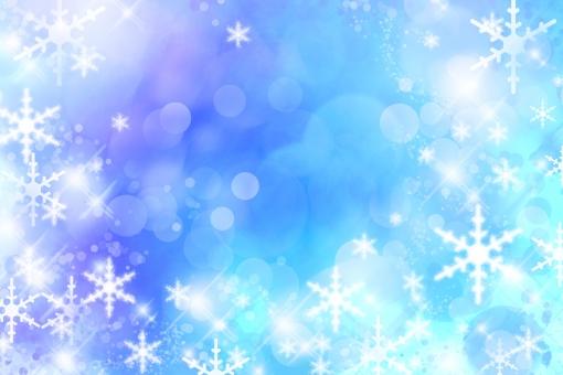 冬 雪 ゆき 雪の結晶 結晶 クリスマス クリスマスイブ 聖夜 きらめき グラデーション ファンタジー 幻想 積雪 星 丸 円 輝き きらきら キラキラ 光 反射 聖夜 イブ 背景素材 背景 素材 テクスチャ テクスチャー 青 バックグラウンド