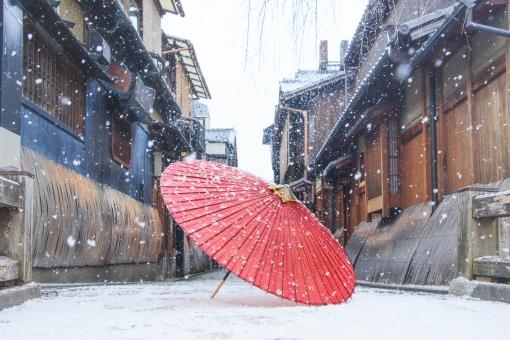 京都〜雪景色〜の写真