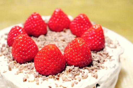 ケーキ 手作り 手作りケーキ 苺 イチゴ チョコ チョコレート 生クリーム クリーム お母さん 子供 誕生日 バースデー リクエスト cake strawberry chocolate birthday お祝い プレゼント 家庭 下手
