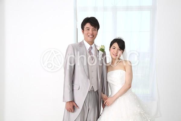 花嫁と花婿14の写真