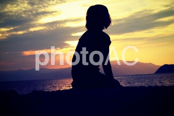 ため息と黄昏と未来の写真