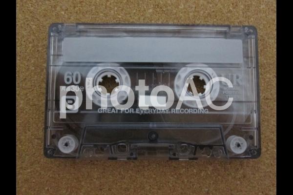 カセットテープの写真