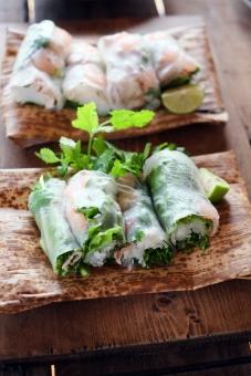 生春巻き ベトナム料理 料理 パクチー ゴイクン アジア料理