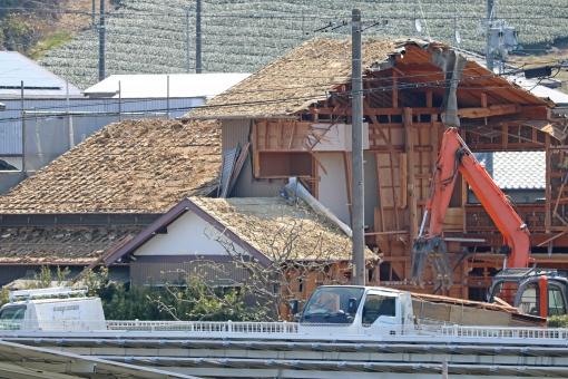 家屋 解体 建て替え 家 解体工事 民家 木造