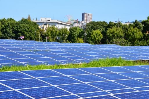 枚方市 淀川 河川敷 ひらかたソラパ ソーラーパネル 太陽光発電 再生可能エネルギー 発電 環境 エコ エコロジー クリーン 太陽電池 エネルギー 電力 太陽 日光
