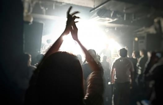 ライブで拍手の写真