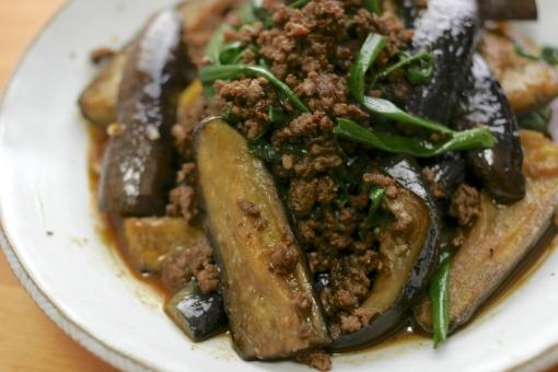 米なす 米茄子 茄子 ナス 野菜 なす なすび 旬 麻婆茄子 マーボーナス 中華 中華料理 自炊 自家製 手作り 美味しい