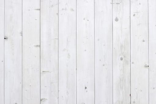 白い木の壁3の写真