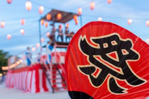 お祭りの風景 11の写真