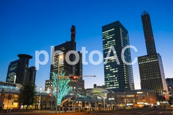 さいたま新都心 夜景の写真