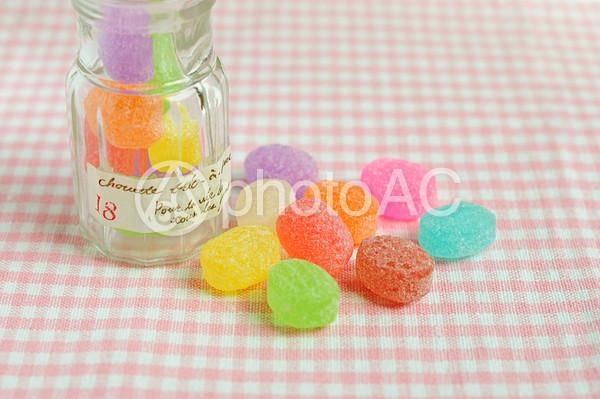 カラフルなキャンディーの写真
