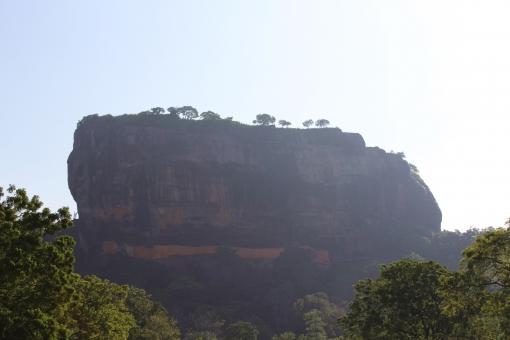 空 自然 大地 パワースポット 植物 スリランカ シギリヤロック