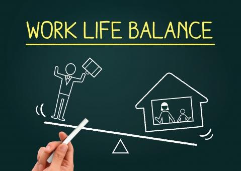 働き方改革のイメージの写真
