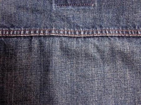 テクスチャ デニム Gジャン 青 濃紺 糸 かすれ アタリ カントリー ナチュラル 素材 布 生地