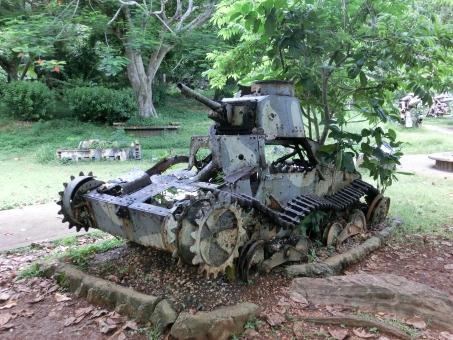 サイパン 戦車 戦跡 歴史 太平洋戦争