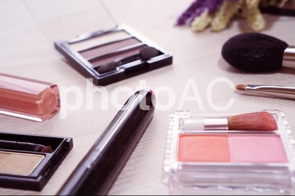 メイク道具の写真