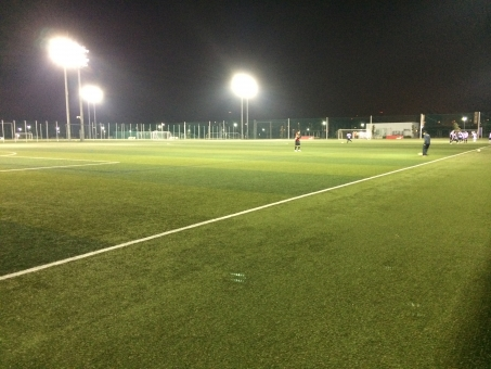 サッカー フットサル ソサイチ ナイター グラウンド グランド 芝 芝生 夜 蹴球
