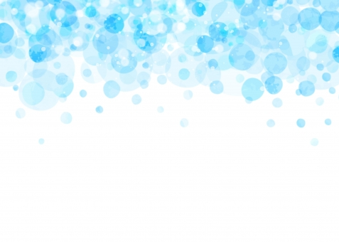 水彩の水玉の写真