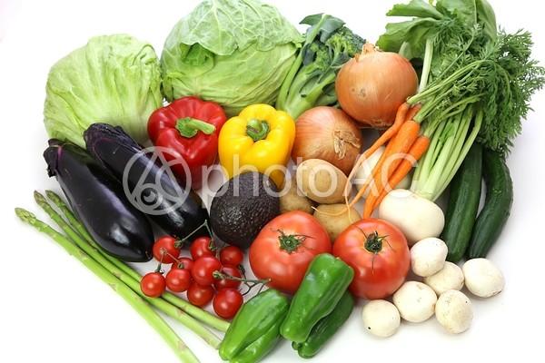 種類豊富な野菜3の写真