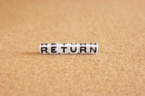 リターン return Return RETURN RETURN 戻る かえる 帰る 復帰 復活 打ち返す 背景 素材 背景素材 壁紙 投資 投資収益率 ビジネス 利益 もうけ 儲け リスクとリターン 改行 パソコン プログラミング ハイリターン ローリターン 帰ってくる ウェブ ネット
