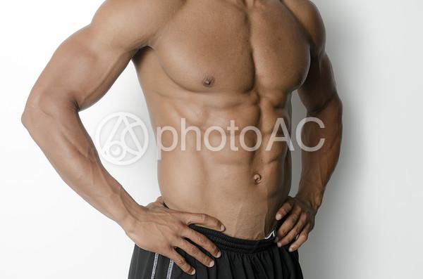 アスリートの腹筋17の写真
