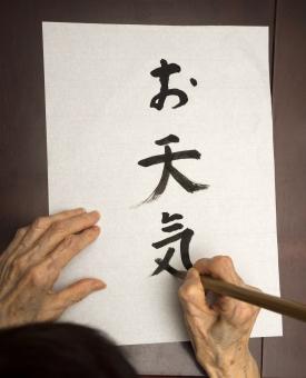 習字 字を書く 書く 漢字 平仮名 ひらがな 高齢者 老人 認知機能 維持 認知症 予防 介護 老人介護 趣味活動 書道 脳の刺激 精神機能維持 症状緩和 医療 作業療法 作業能力の改善 芸術療法 認知リハビリテーション 認知 認知機能維持