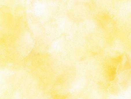 柔らかい黄色の水彩絵の具のイメージの写真