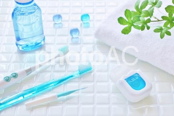 歯磨きしましょ! 虫歯予防。の写真