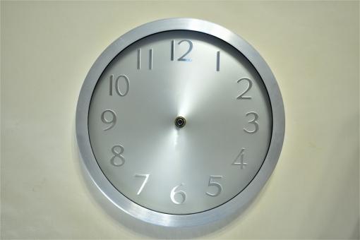 小物 超便利時計文字盤(PSD 1時から12時までの各時間の長短針 各時間変更可能)の写真