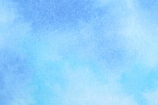 水彩・和紙・絵の具・背景素材の写真