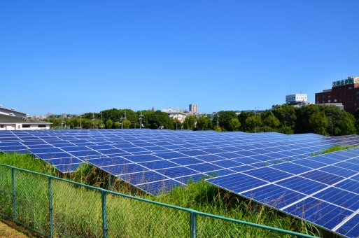 太陽光発電所1の写真