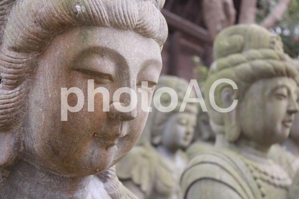 四国霊場第86番札所 志度寺 仏像の写真