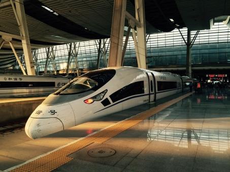 外国 中国語 中国人 中国 北京 上海 スピード 速い 高速 速度 時間短縮 駅 ステーション station