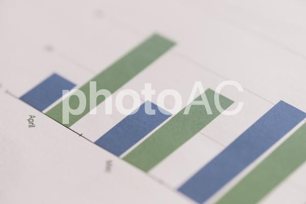 チャートグラフ・棒グラフ18の写真