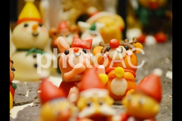 お菓子のデコレーションの写真