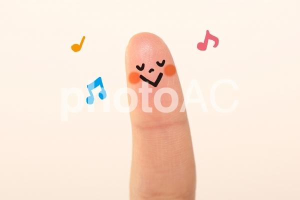 かわいい指 子ども2の写真