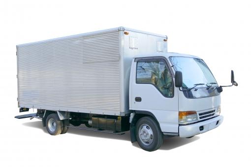 PSD・配送トラックの写真