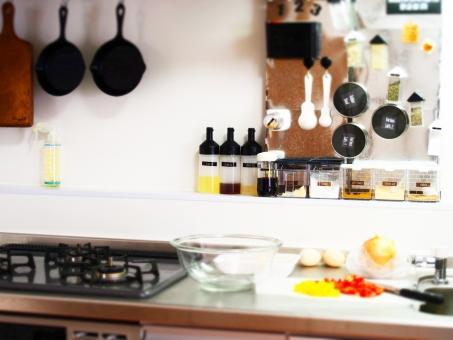 キッチン周り8(やりかけ)の写真