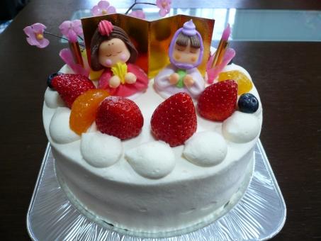 cake 食べ物 いちご イチゴ 苺 けーき ケーキ ひなまつり