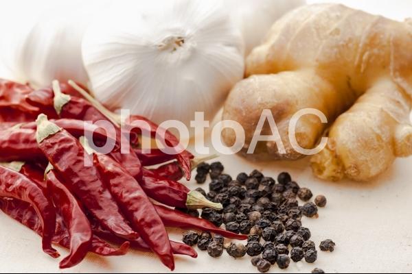 香辛料の写真