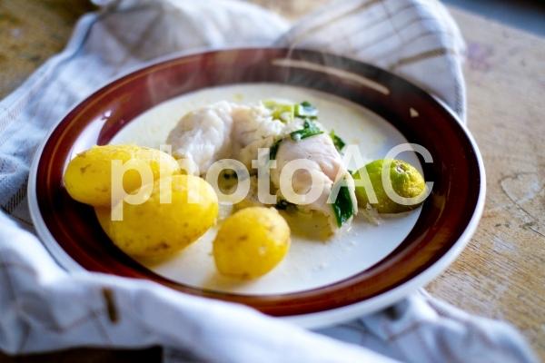 タラのクリーム煮の写真