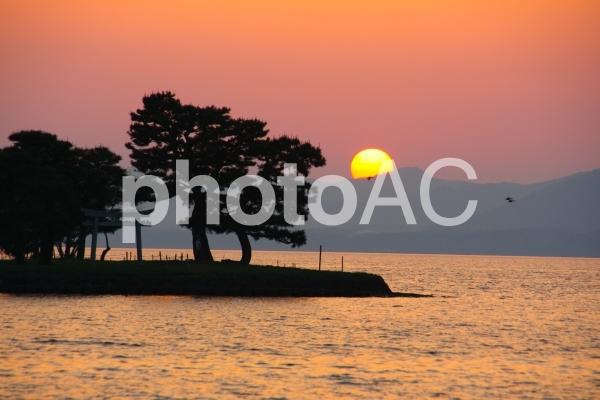 松江 宍道湖 嫁ヶ島の写真