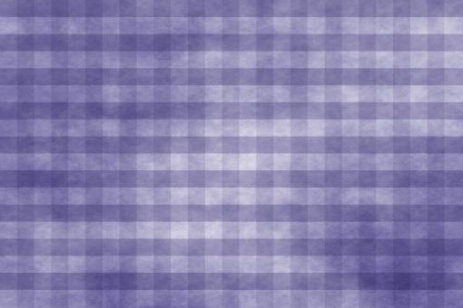 和紙 色紙 台紙 紙 ちぢれ ゴワゴワ テクスチャー 背景 背景画像 ファイバー 繊維 チェック ギンガムチェック 格子 格子模様 紫 青 群青 パープル ブルー 藍