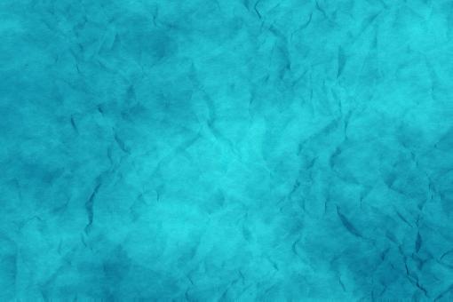 和紙 色紙 台紙 紙 ちぢれ ゴワゴワ 凸凹 テクスチャー 背景 背景画像 ファイバー 繊維 しわ くしゃくしゃ 青 水色 浅葱 ブルー アクアマリン