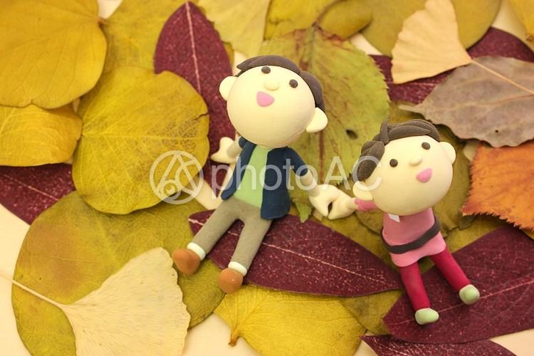 秋のデート2の写真