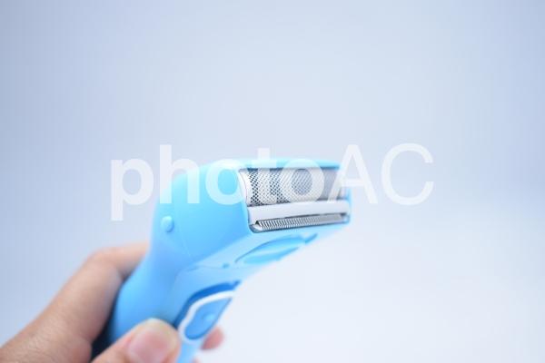 電気シェーバーの写真