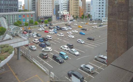 建物 ビル 車 駐車場 宮城 仙台 仙台駅